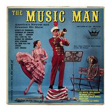 <cite>The Music Man</cite> album art