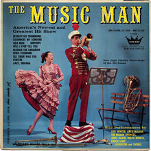 <cite>The Music Man</cite> album art