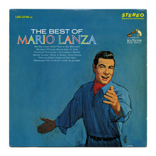 <cite>The Best Of Mario Lanza </cite>album art