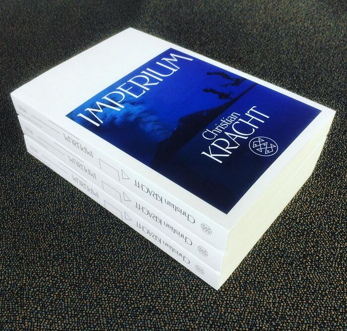 Imperium cover and spine.