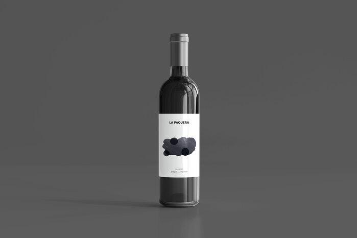 Oloroso wine label, La Paquera 1