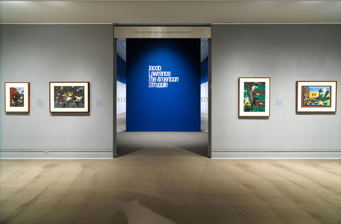 Jacob Lawrence: The American Struggle at The Met 4