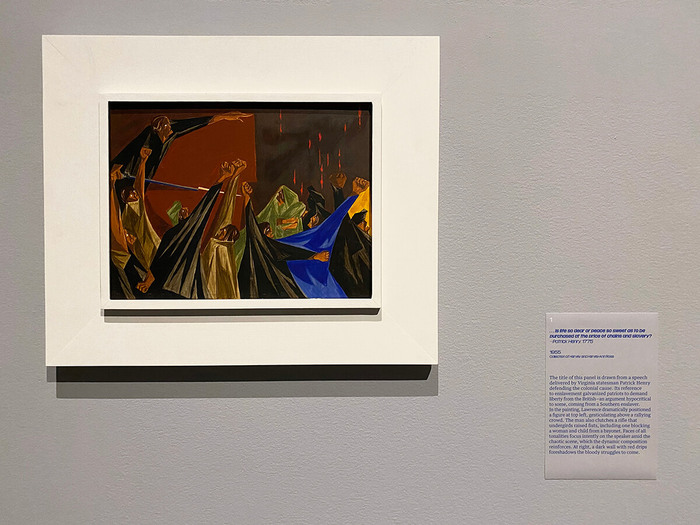Jacob Lawrence: The American Struggle at The Met 6