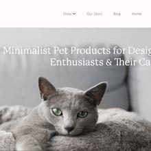 Noots Pets website