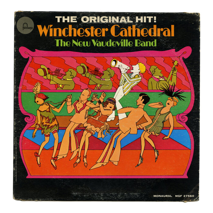The New Vaudeville Band – Winchester Cathedral U.S. album art