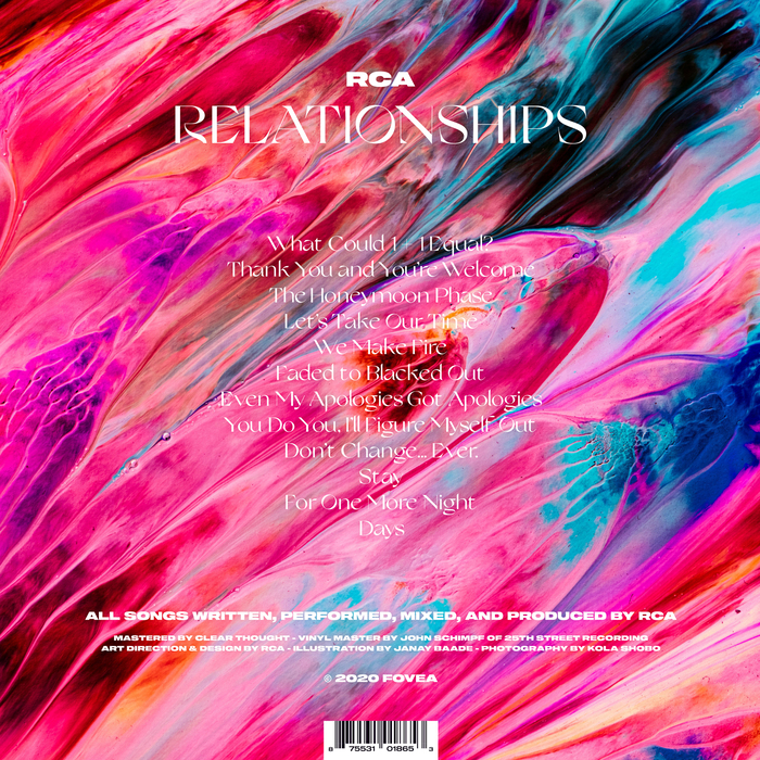 RCA – Relationships album art 2