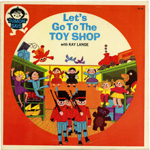 <cite>Let's Go To The Toy Shop</cite> album art