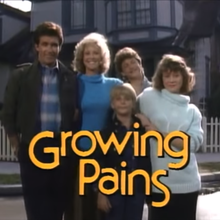 <cite>Growing Pains</cite> TV intro &amp; credits