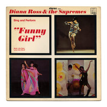 """Diana Ross &amp; The Supremes<cite> – Sing And Perform """"Funny Girl"""" </cite>album art"""