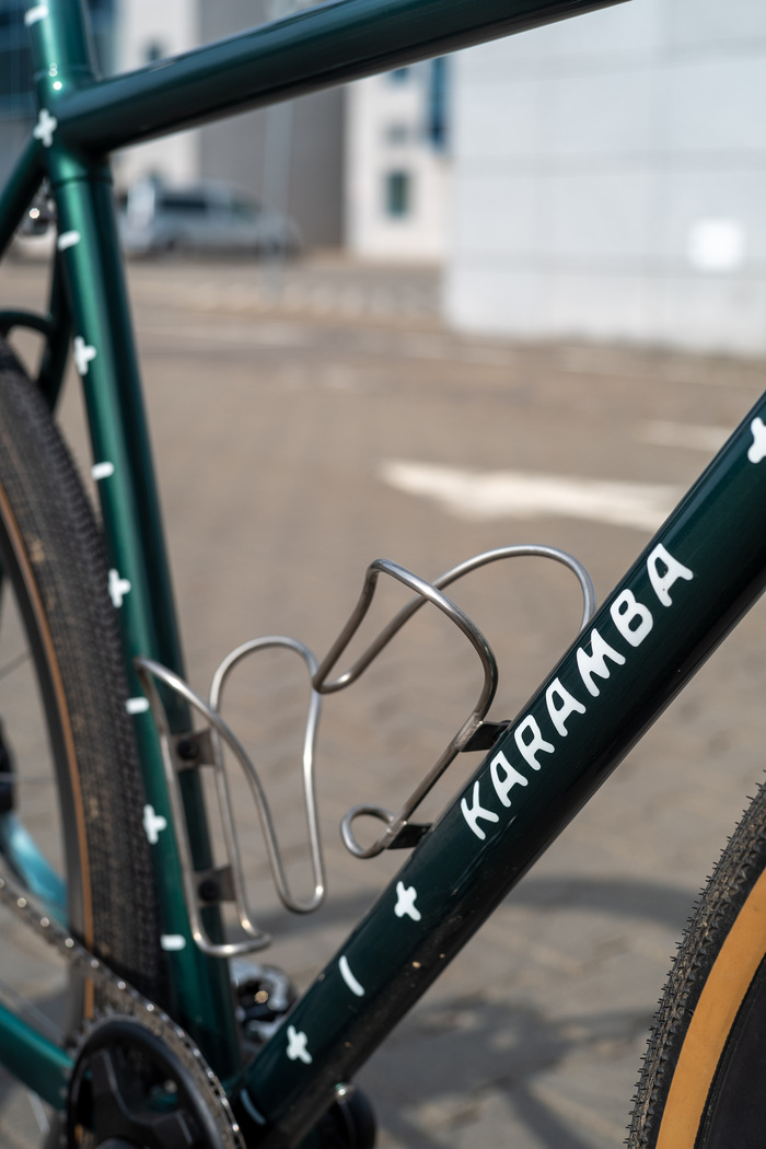 Karama bicycle frame lettering 2