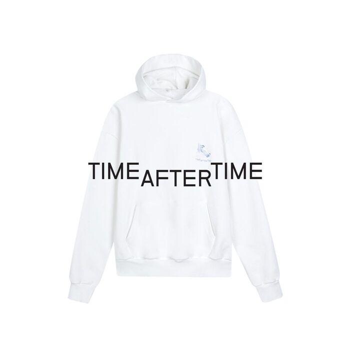 Photo printed hoodie.