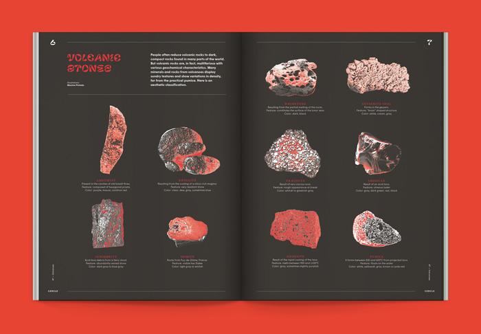 "Cercle magazine nº7, ""Volcanoes"" 3"