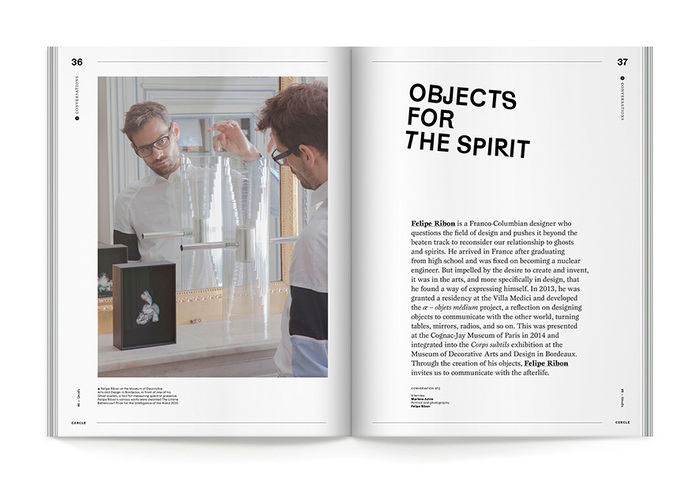"""Cercle magazine nº8, """"Ghosts"""" 4"""