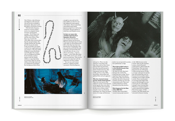 """Cercle magazine nº8, """"Ghosts"""" 5"""