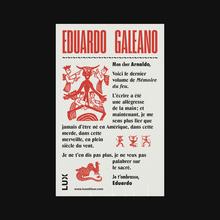 Eduardo Galeano poster