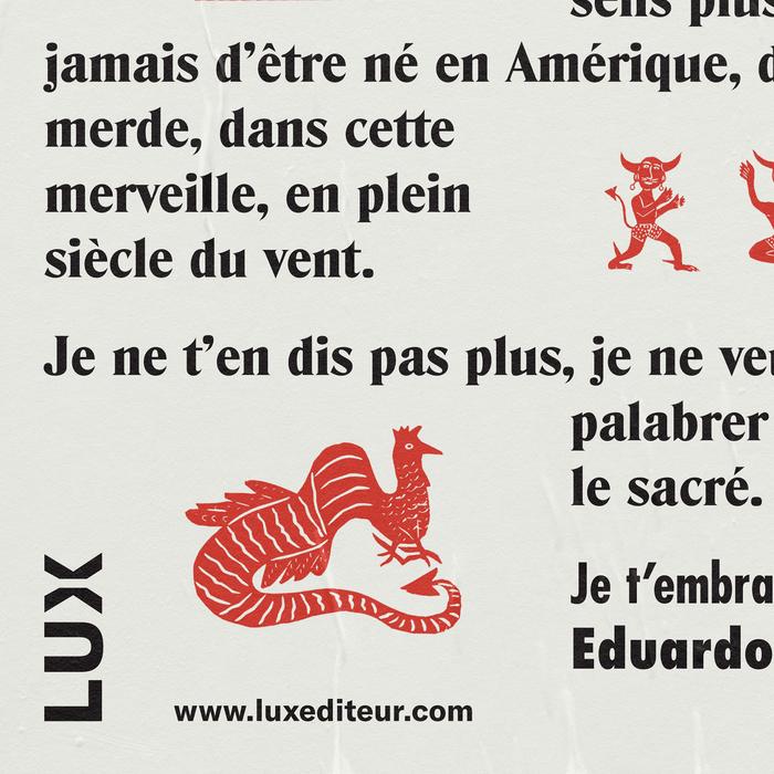 Eduardo Galeano poster 3