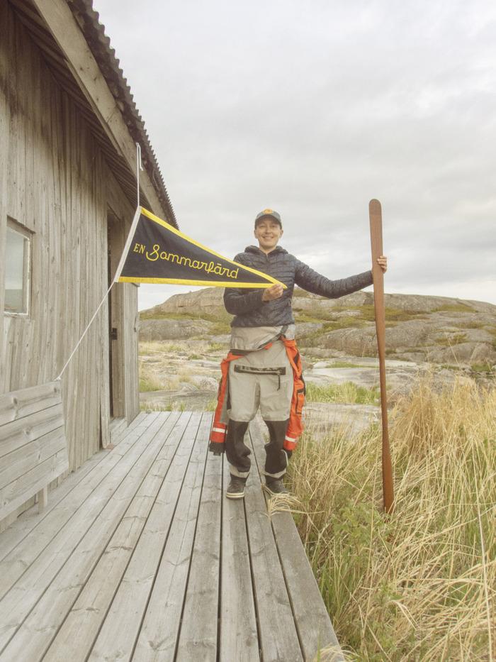 """""""En Sommarfärd"""" flag 2"""