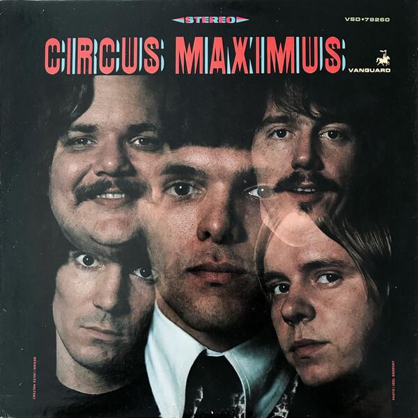 Circus Maximus – Circus Maximus album art 2