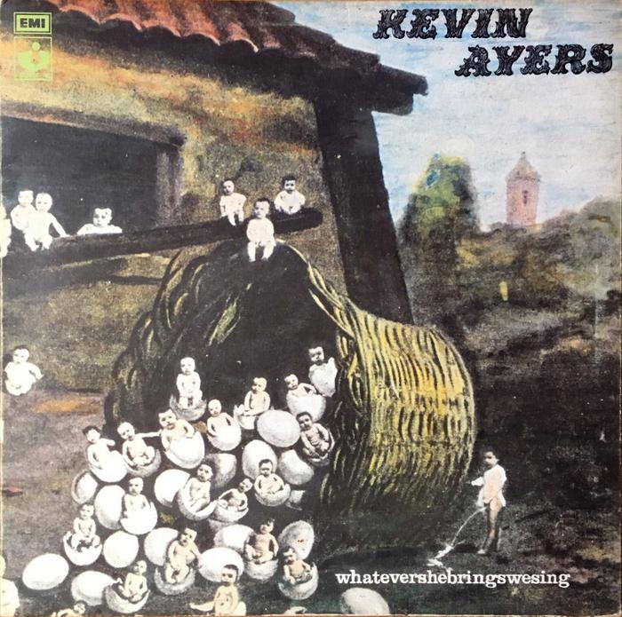 Kevin Ayers – Whatevershebringswesing album art 1