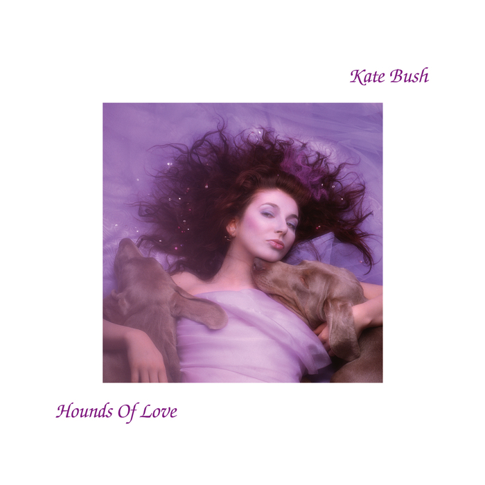 Sleeve for the 1985 Kate Bush album Hounds of Love.