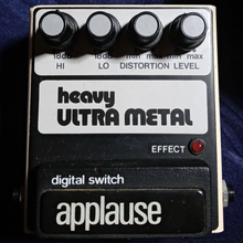 Heavy Ultra Metal effects pedal