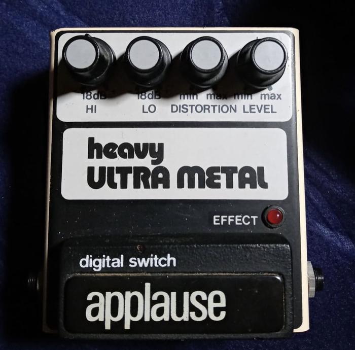 Heavy Ultra Metal effects pedal 1