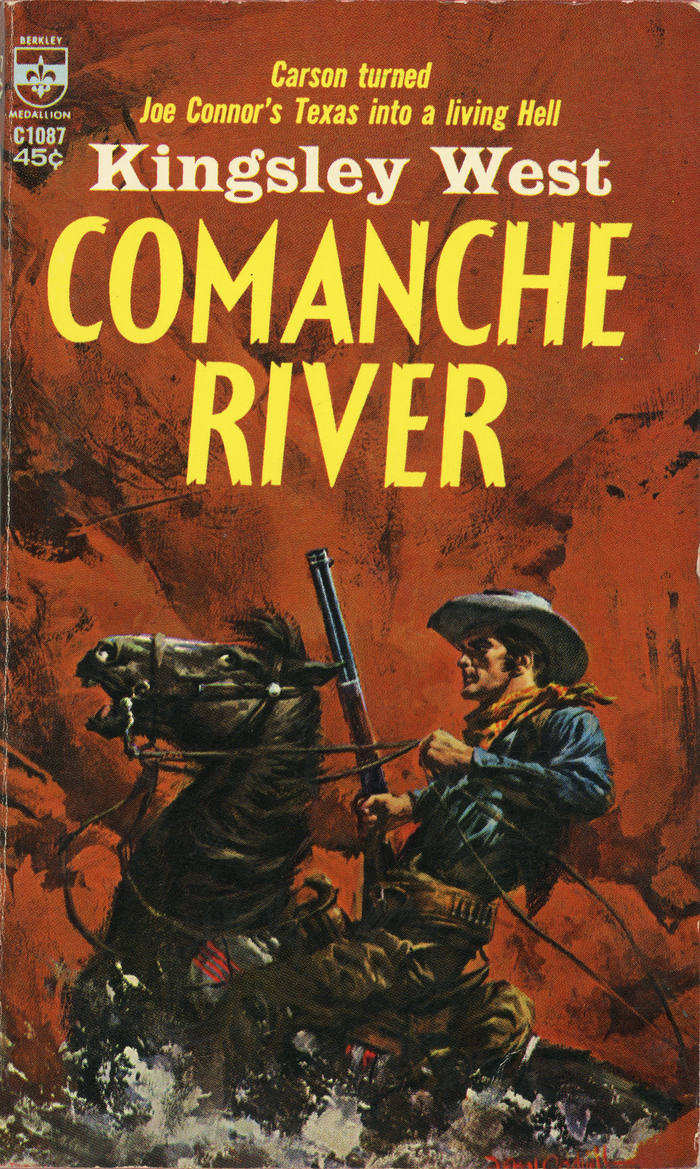 Comanche River by Kingsley West (Berkley)