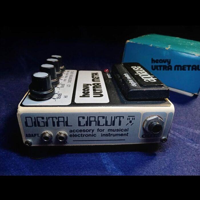 Heavy Ultra Metal effects pedal 3