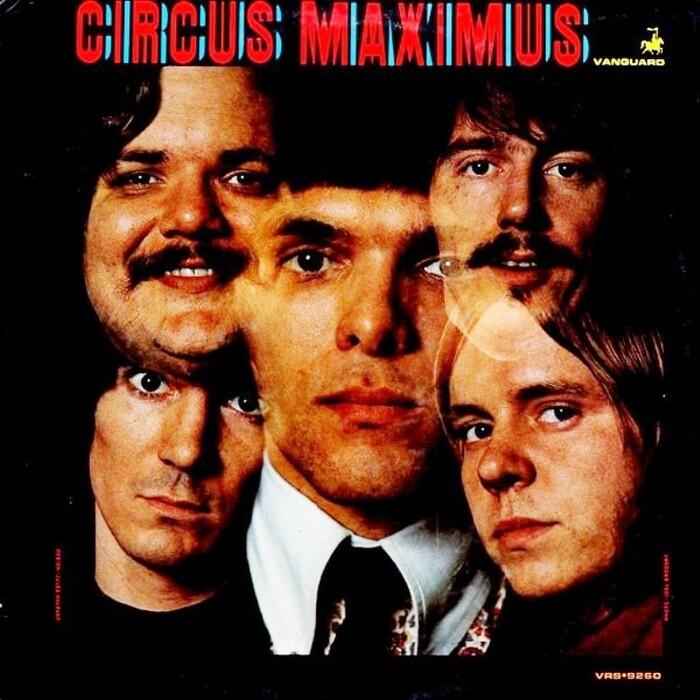Circus Maximus – Circus Maximus album art 1