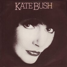 "Kate Bush – ""Wow"" single cover"