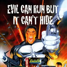 <cite>The Punisher</cite> video game ad (1994)