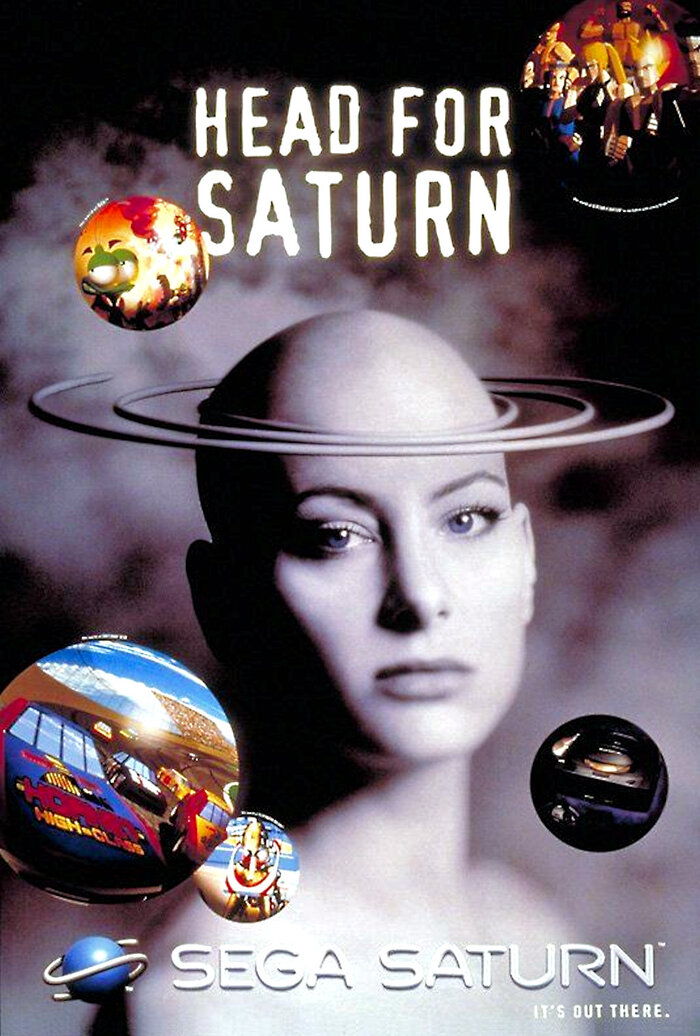 Sega Saturn video game console launch ads (1995) 1