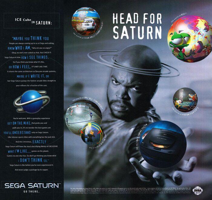 Sega Saturn video game console launch ads (1995) 2