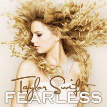Taylor Swift – <cite>Fearless </cite>album art