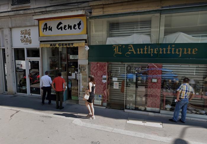 Au Genet, Lyon 2
