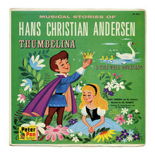 <cite>Musical Stories Of Hans Christian Andersen</cite> album art