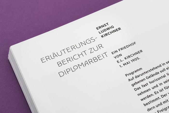 Ernst Ludwig Kirchner. Vor der Kunst die Architektur 2