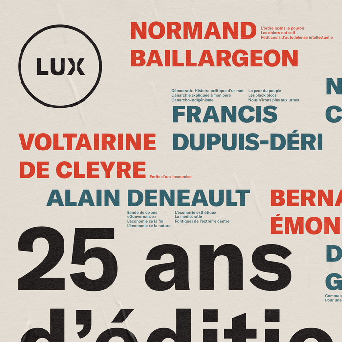 25 ans pour Lux 2