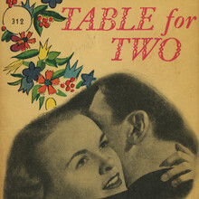 <cite>Table for Two</cite> by Maysie Greig (White Circle)