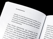 Lettres libres book interiors