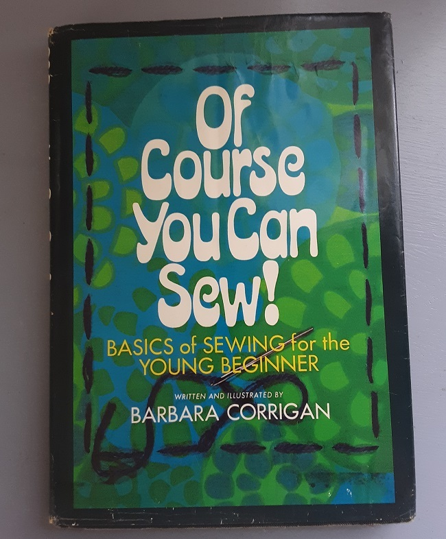 Of Course You Can Sew! – Basics of Sewing for the Young Beginner (front cover).