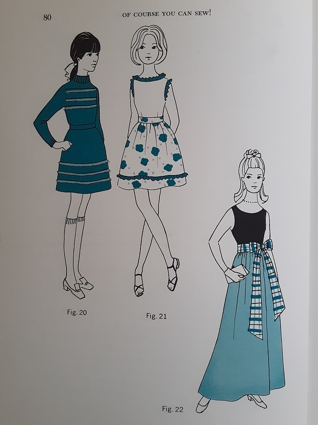 Of Course You Can Sew! – Basics of Sewing for the Young Beginner (page 80, figs. 20, 21 & 22).