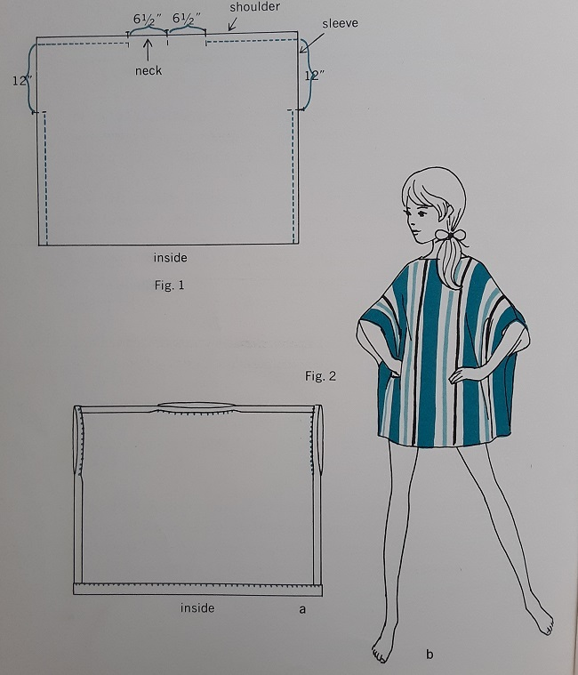 Of Course You Can Sew! – Basics of Sewing for the Young Beginner (page unknown, figs. 1 & 2).