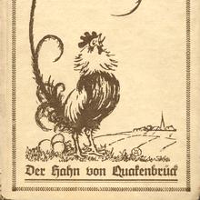 <cite>Der Hahn von Quakenbrück</cite> by Ricarda Huch