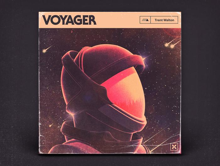 Trent Walton – Voyager album art