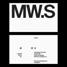 Mouthwash Studio branding