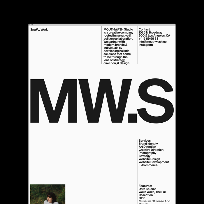 Mouthwash Studio branding 3