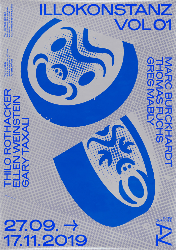 ILLOKonstanz Vol 01 exhibition poster, fall 2019.