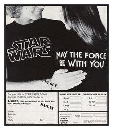 Official <cite>Star Wars</cite> T-shirt