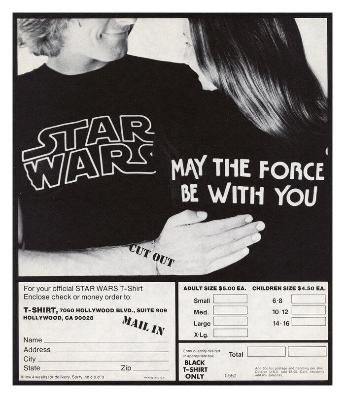 Official Star Wars T-shirt 1